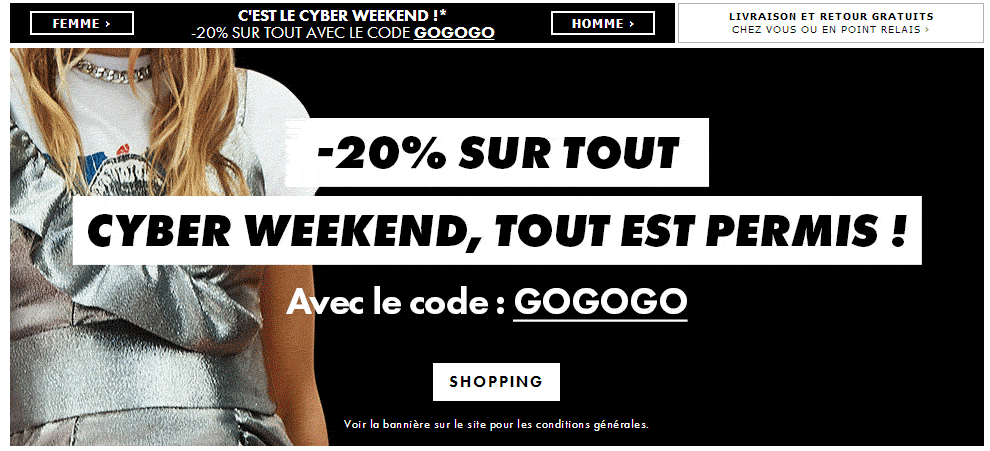 Asos cyber week end