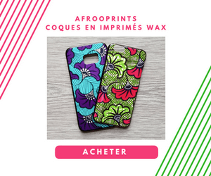 Afrooprints -  Coques Smartphones en imprimés Wax