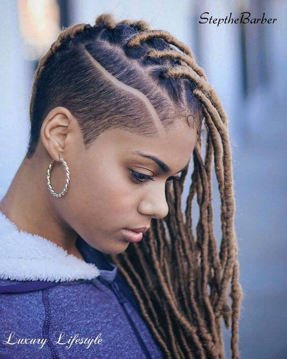 fausse locs inspiration coiffure